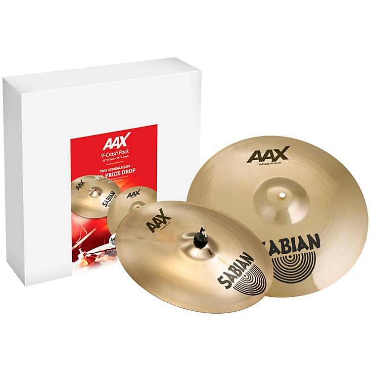 SabianAAX V-Crash Cymbal Pack