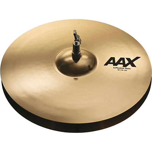 Sabian AAX X-Plosion Hi-Hat Cymbals Brilliant 16 in. 2012 Cymbal Vote