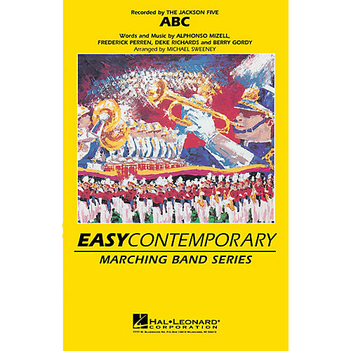 Hal Leonard ABC Marching Band Level 2-3 by The Jackson 5 Arranged by Michael Sweeney-thumbnail