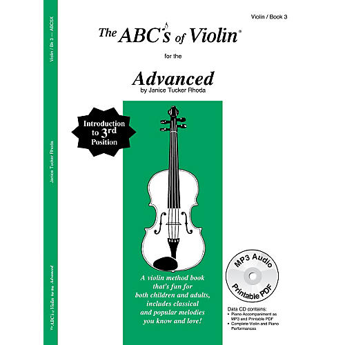 Carl Fischer ABCs of Violin - Advanced (Book + CD)-thumbnail