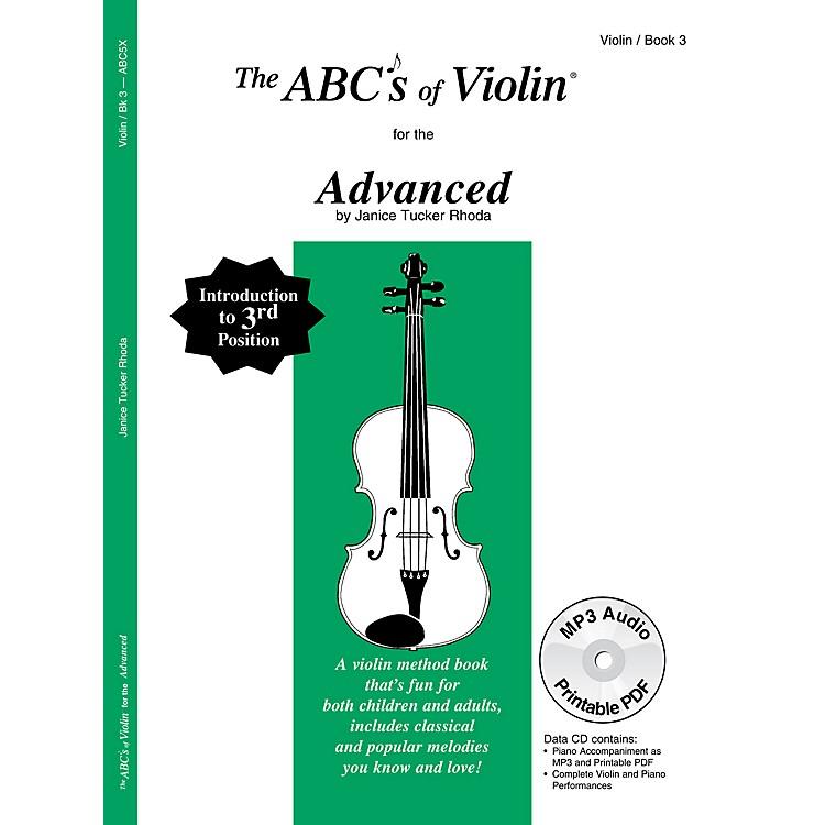 Carl FischerABCs of Violin - Advanced (Book + CD)