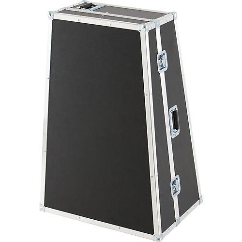 Unitec ABE Alan Baer Lightweight Series Tuba Case for Meinl Weston 6450 CC Tuba Gray With Wheels