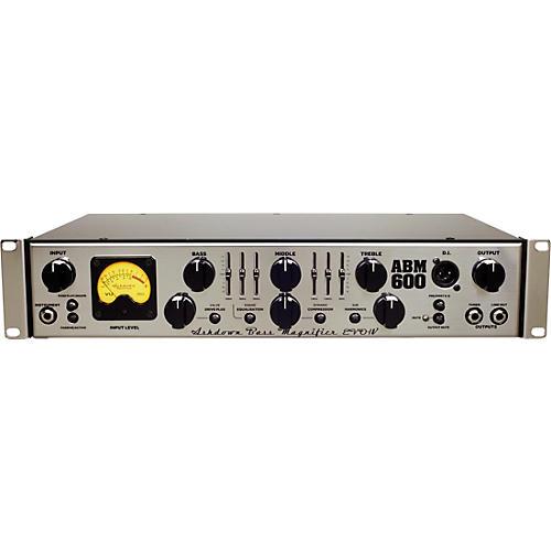 Ashdown ABM-600RC-EVO IV 600W Rackmount Bass Tube Hybrid Bass Amp Head-thumbnail