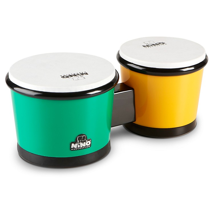 Nino ABS Bongos Green/Yellow