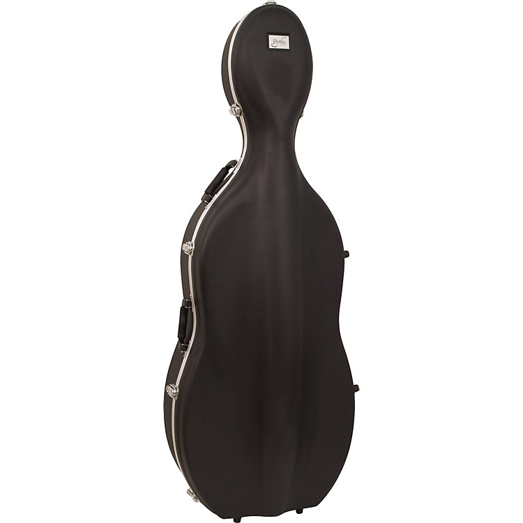 Bellafina ABS Cello Case with Wheels 1/2 Size