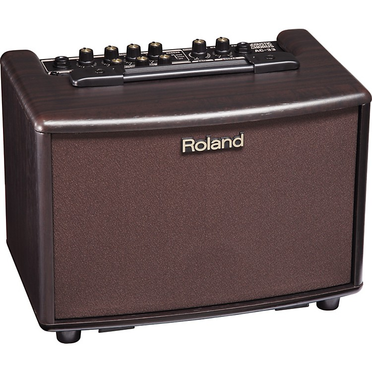 RolandAC-33RW 30W 2x5 Acoustic Combo AmpRosewood