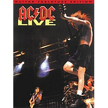 Music Sales AC/DC - Live (Guitar Tab) Music Sales America Series Softcover Performed by AC/DC