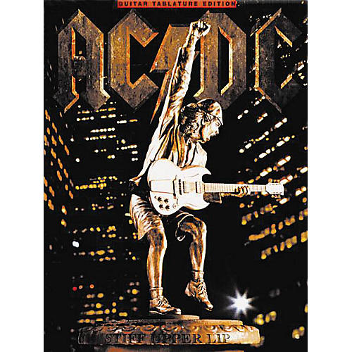 Music Sales AC/DC - Stiff Upper Lip Music Sales America Series Softcover Performed by AC/DC-thumbnail