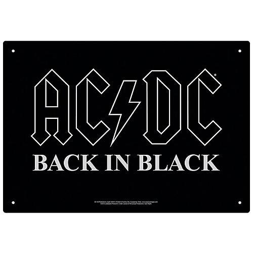 Hal Leonard AC/DC Back in Black Tin Sign