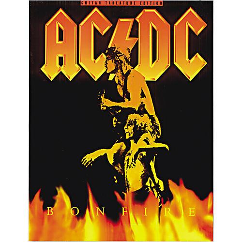 Music Sales AC/DC Bonfire Guitar Tab Songbook