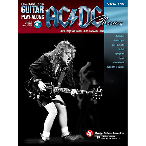 Hal Leonard AC/DC Classics - Guitar Play-Along Volume 119 (Book/CD)