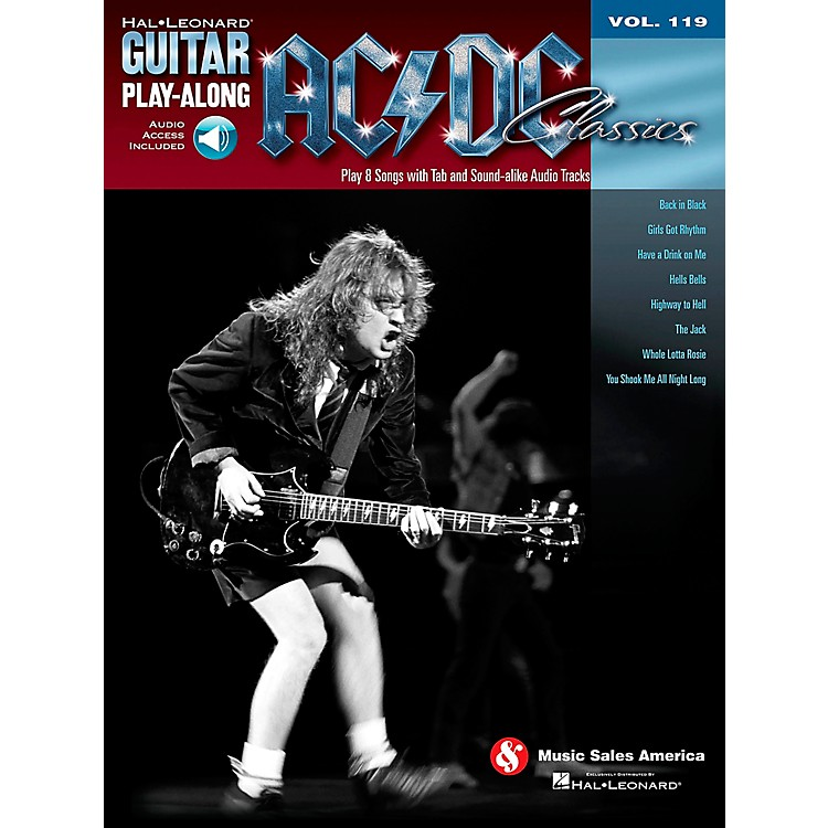 Hal Leonard AC/DC Classics - Guitar Play-Along Volume 119 (Book/CD)