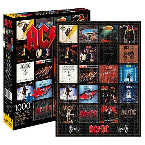Hal Leonard AC/DC Discography 1000 Piece Puzzle-thumbnail