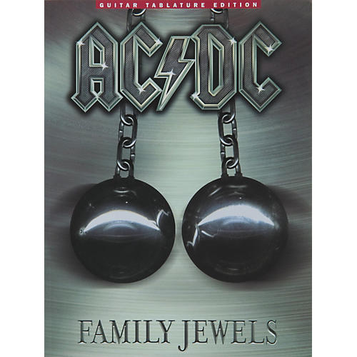 Music Sales AC/DC Family Jewels Guitar Tab Songbook