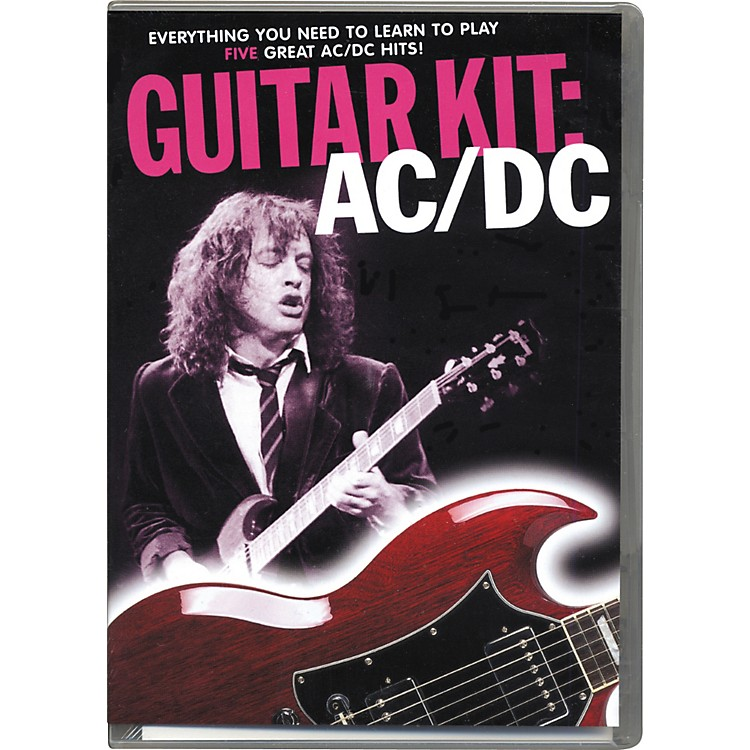 Music Sales AC/DC Guitar Kit (DVD/CD/Book)