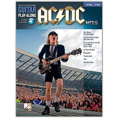 Music Sales AC/DC Hits Guitar Play-Along Volume 149 Book/CD-thumbnail