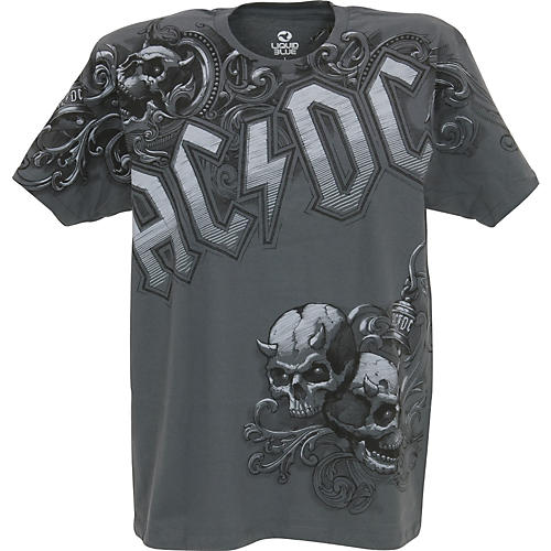 AC/DC AC/DC Night Prowler T-Shirt Gray Large