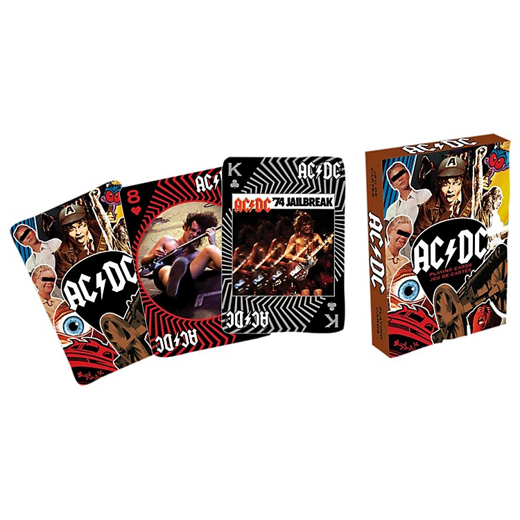 Hal Leonard AC/DC Playing Cards