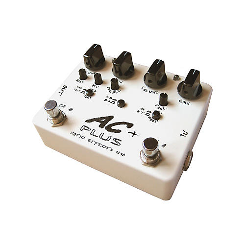 Xotic Effects AC Plus 2-Channel Overdrive Guitar Effects Pedal