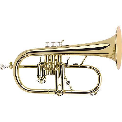 Antoine Courtois Paris AC155-1-0 Professionel Bb Flugelhorn Silver Rose Brass Bell-thumbnail