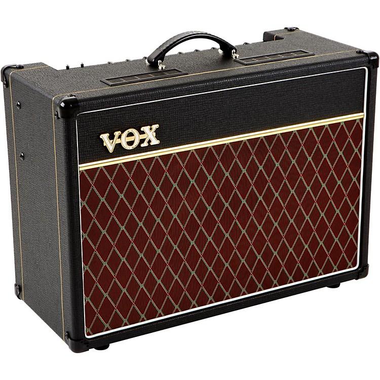 VoxAC15C1X 15W 1x12 Tube Guitar Combo AmpBlack