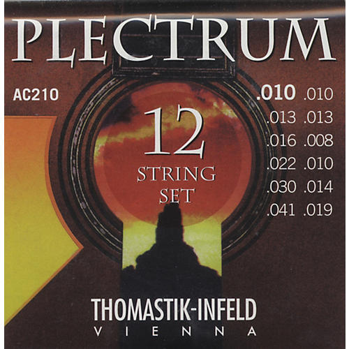 Thomastik AC210 Plectrum Bronze Extra Light Acoustic 12-String Guitar Strings