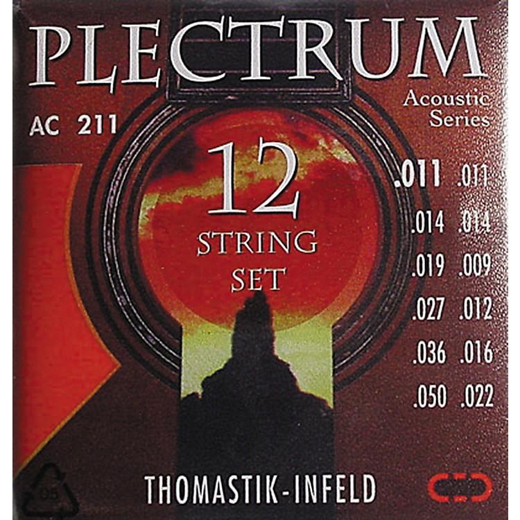 ThomastikAC211 Plectrum Bronze Light Acoustic 12-String Guitar Strings