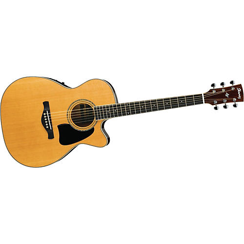 Ibanez AC350ECENT Artwood Grand Concert Cutaway Acoustic-Electric Guitar