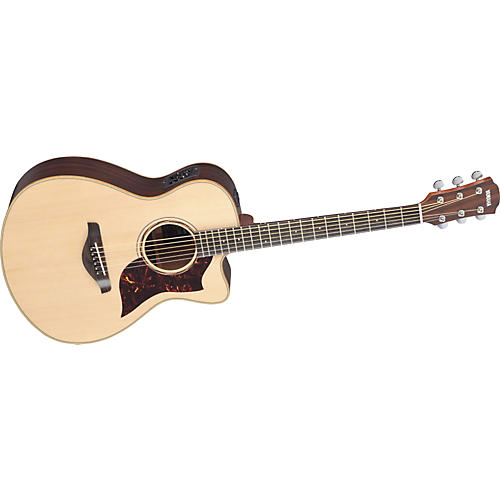 Yamaha AC3R All Solid Wood Concert Acoustic-Electric Guitar w/Hardshell Case-thumbnail