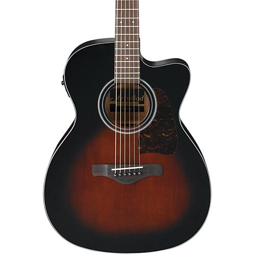 Ibanez AC400CEDVS Artwood Solid Top Grand Concert Acoustic-Electric Guitar-thumbnail