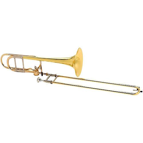 Antoine Courtois Paris AC420BH Legend Series Hagmann F-Attachment Trombone AC420BH Lacquer Yellow Brass Bell