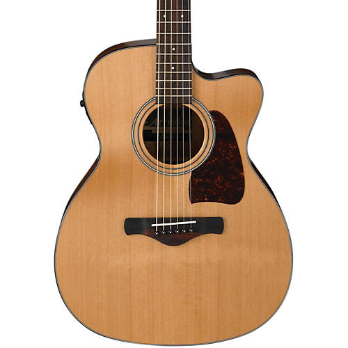 Ibanez AC450CENT Artwood Solid Top Grand Concert Acoustic-Electric Guitar