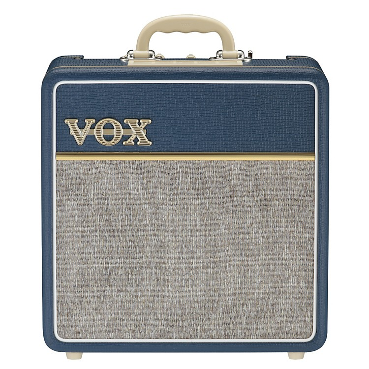 VoxAC4C-BL 4W 1x10 All-Tube Mini Guitar Combo Amp with Top BoostBlue