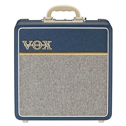 Vox AC4C1-BL 4W 1x10 All-Tube Mini Guitar Combo Amp with Top Boost-thumbnail