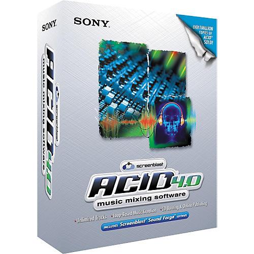 Sony ACID Loop Screenblast ACID 4.0-thumbnail