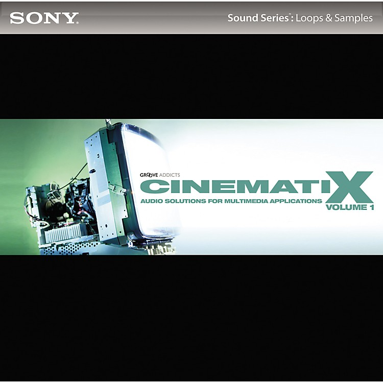 SonyACID Loops - Cinematix Volume 1