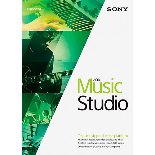 Sony ACID Music Studio 10 Software Download