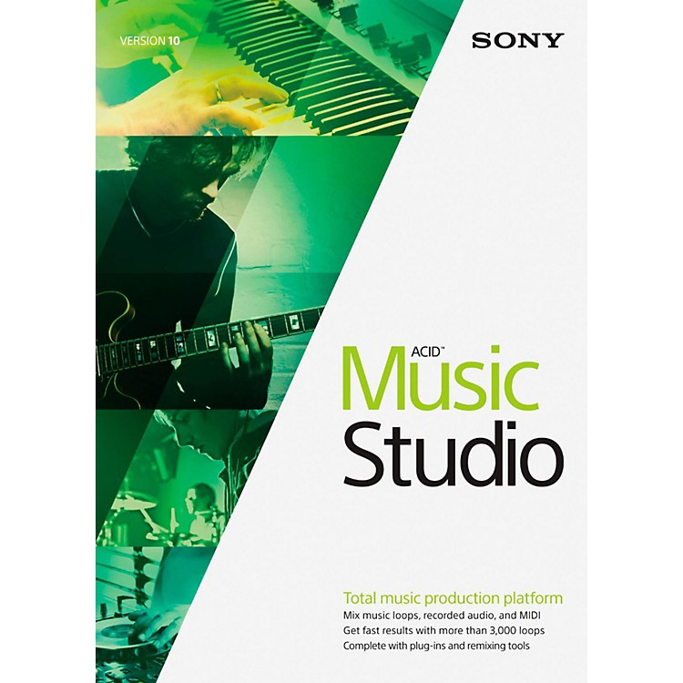 SonyACID Music Studio 10Software Download