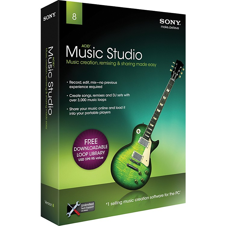 SonyACID Music Studio 8.0 - 2011