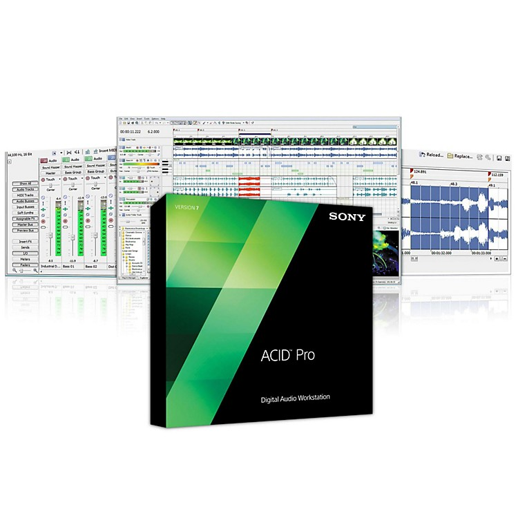 Sony ACID Pro 7 Software Download