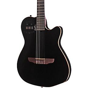 godin acs sa slim nylon string cedar top acoustic electric guitar musician 39 s friend. Black Bedroom Furniture Sets. Home Design Ideas