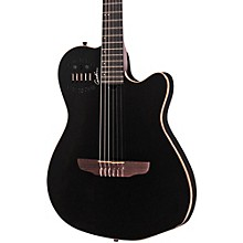 Godin ACS-SA Slim Nylon String Cedar Top Acoustic-Electric Guitar Level 1 Black Pearl