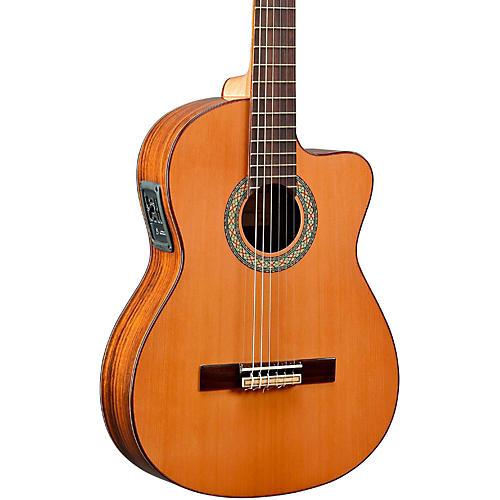 Manuel Rodriguez ACUT-U Nylon-String Classical Acoustic-Electric Guitar Natural-thumbnail