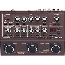 Boss AD-10 Acoustic Guitar Multi-Effects Pedal Brown