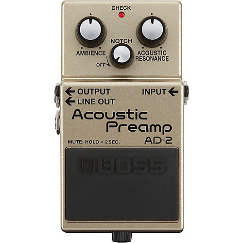 Boss AD-2 Acoustic Preamp Pedal-thumbnail