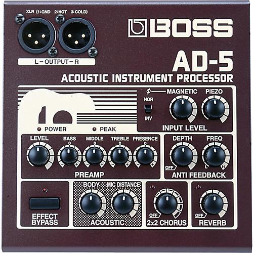 Boss AD-5 Acoustic Instrument Processor-thumbnail