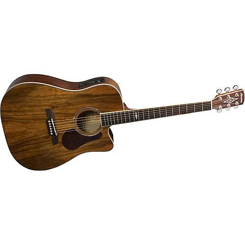 Alvarez AD222C Artist Cutaway Dreadnought Acoustic-Electric Guitar with System 600 Mk II