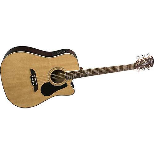Alvarez AD411C Artist Cutaway Dreadnought Acoustic-Electric Guitar with System 600 Mk II