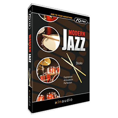 XLN Audio ADpak Modern Jazz - Sticks