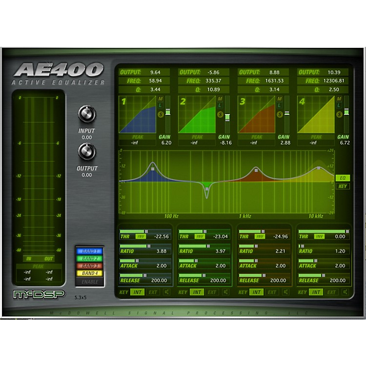 McDSP AE400 Active EQ Native v5